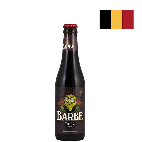 Пиво Verhaeghe Barbe Ruby   Верхаге Барб Руби   330 мл   бут. - CHILL