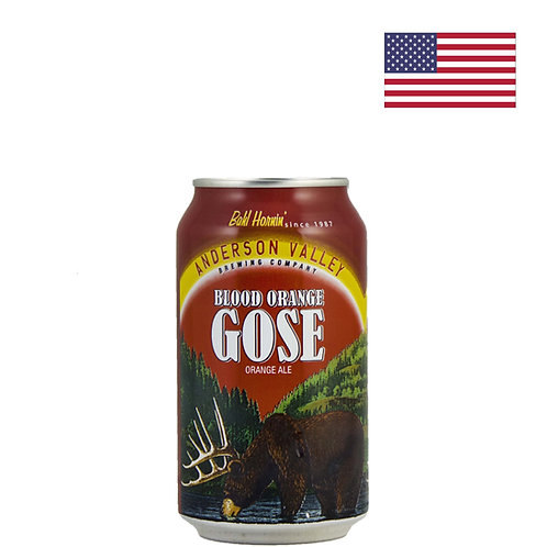 Пиво Anderson Valley Blood Orange Gose | 355 мл | ж/б - CHILL