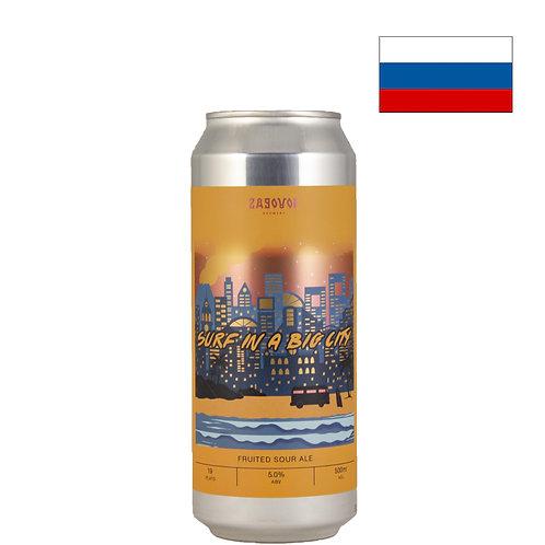 Пиво Zagovor Surf In A Big City   500 мл   ж/б - CHILL