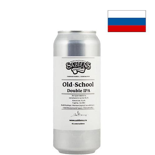 Пиво Salden's Old School DIPA   Салденс Олд Скул ДИПА   500 мл   ж/б - CHILL