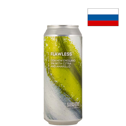 Пиво Bakunin Flawless | Бакунин Флолес | 500 мл | ж/б - CHILL