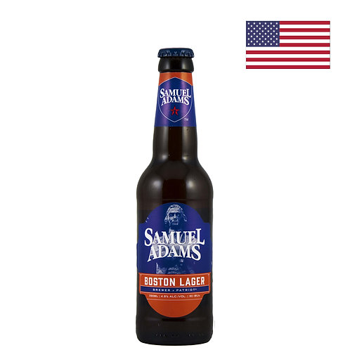 Пиво Samuel Adams Boston Lager | 330 мл | бут. - CHILL