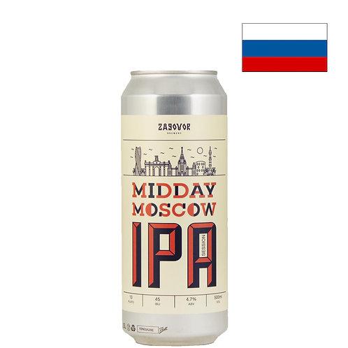 Пиво Zagovor Midday Moscow IPA | Заговор Миддей Москоу | 500 мл | ж/б - CHILL
