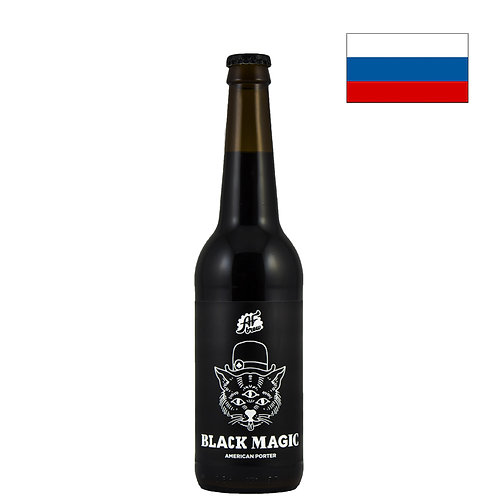 Пиво AF Brew Black Magic   Аф Брю Блэк Мэджик   500 мл   ж/б - CHILL