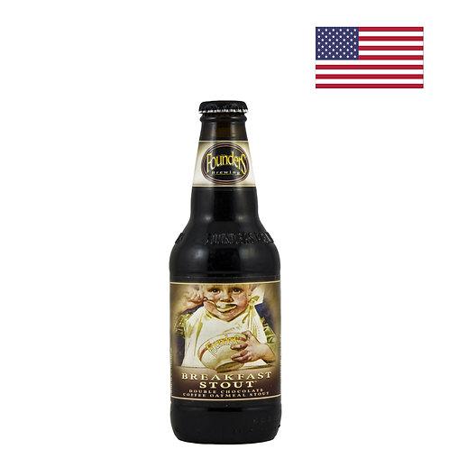 Пиво Founders Breakfast Stout | Фаундерс Брекфаст Стаут | 355 мл | бут. - CHILL