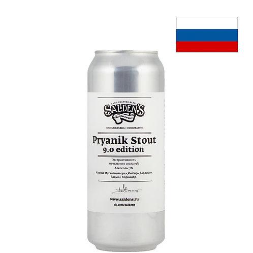 Пиво Salden's Pryanik Stout | Салденс Пряник Стаут | 500 мл | ж/б - CHILL