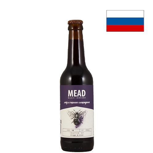 Медовуха Steppe & Wind(Степь и Ветер) Black Currant | 330 мл | бут. - CHILL