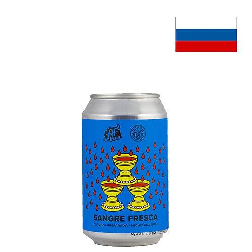 Пиво AF Brew Sangre Fresca | АФ Брю Сангре Фреска | 330мл | ж/б - CHILL