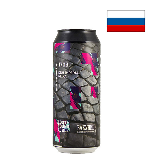 Пиво Bakunin 1703 | Бакунин 1703 | 500 мл | ж/б - CHILL