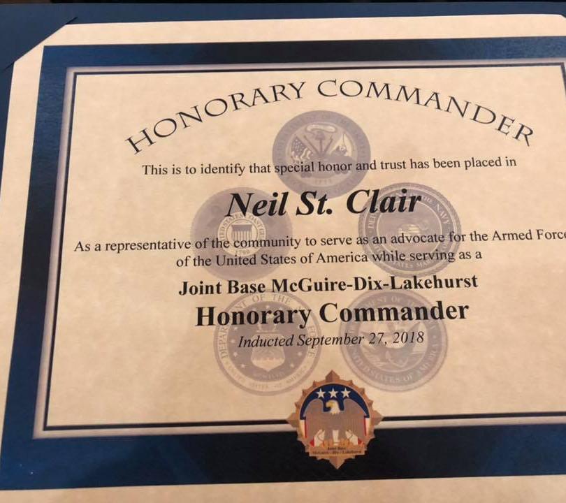 Honorary Commander U.S. Air Force