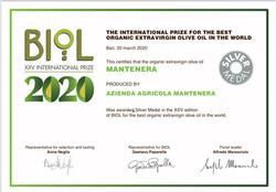 Biol Prize 2020