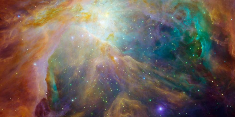 Kosmischer Lichtkreis - Universum voller Liebe