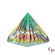 LichtKristall Pyramide Grün von Ascension