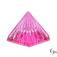 LichtKristall Pyramide Magenta-Pink von Ascension