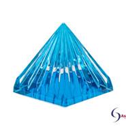 LichtKristall Pyramide Türkis von Ascension