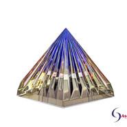 LichtKristall Pyramide Blau von Ascension