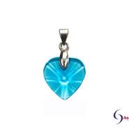 Herz Aquablau von Ascension