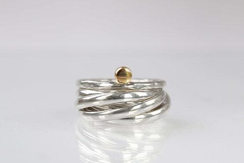 набор колец серебро, кольцо из нескольких колец, кольца сет,латунь серебро,Толстая ювелир, Tolstaya jewelry,jewelry ювелирный