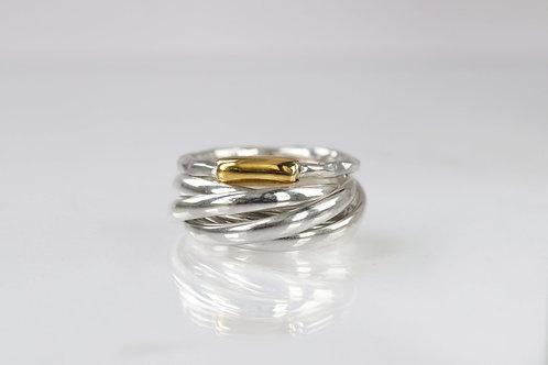 купить кольцо серебряное женское, ювелирные интернет магазины с доставкой, недорогие кольца спб, кольцо из нескольких колец