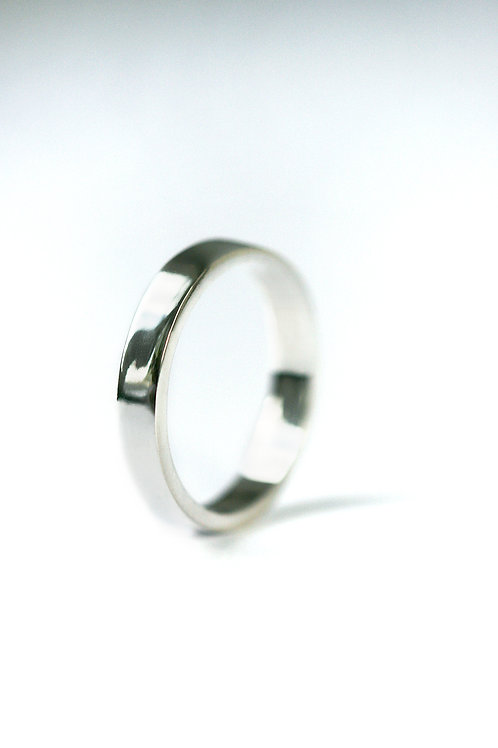 Екатерина Толстая ювелир, простое кольцо без всего, Tolstaya Jewelry серебро, гладкое кольцо, кольцо без камней, обручальное