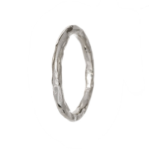 Битое серебро ручная работа, Екатерина Толстая ювелирные украшения, кольцо без камней, серебряное кольцо простое