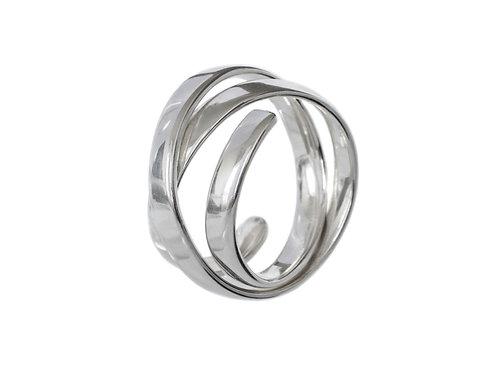 Кольцо Спираль