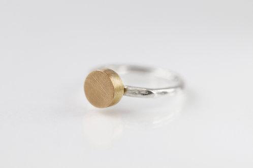 Кольцо битое с латунным цилиндром