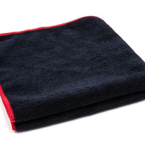 "16"" x 16"" Ultra Microfiber Black With Red Trim"