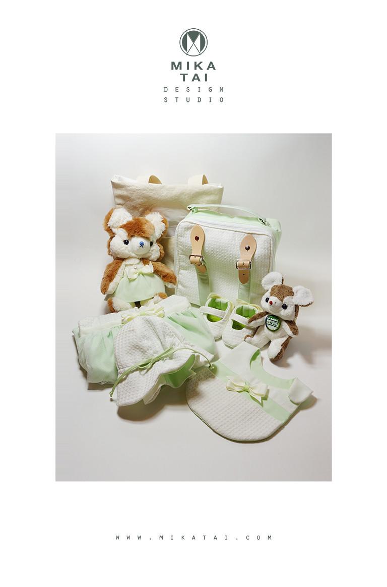 小晴&兩歲小姊姊小妍的嬰兒禮盒組/Gift set for a newborn baby girl and her little 2 year old sis