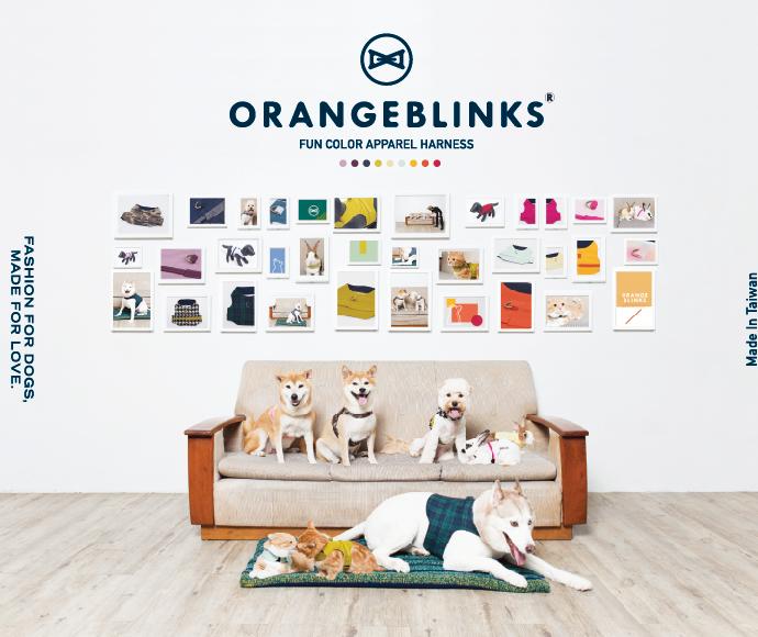 Orange Blinks poster desgin