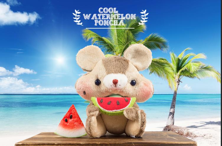 Watermelon poncha