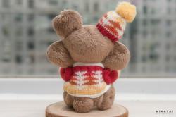 2016 聖誕小樹毛衣poncha