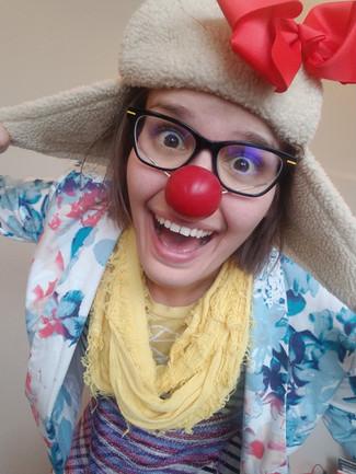 Clown Headshot (copyright Chae Chaput)
