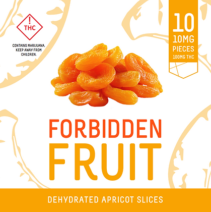 Forbidden Fruit - Dehydrated Apricot Slices