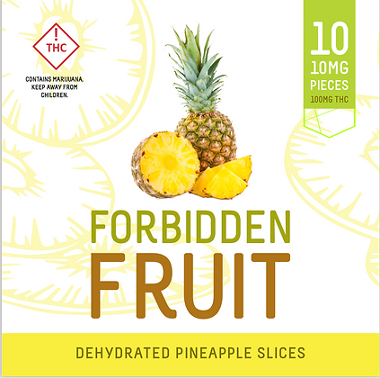 Forbidden Fruit - Dehydrated Pineapple Slices