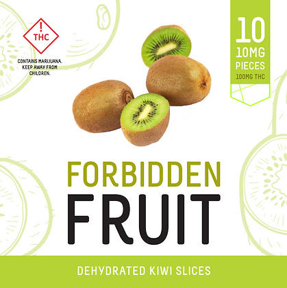 Forbidden Fruit - Dehydrated Kiwi Slices