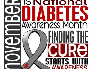 This for that...Diabetes awareness month