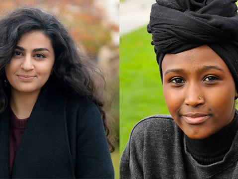 Intervju: Sofia Srour og Amina Bile