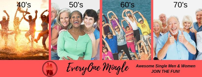 Everyone Mingle 40+ Going Solo Community