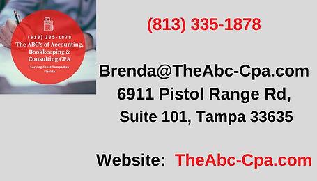 (813) 335-1878_ Brenda@TheAbc-Cpa.com 69