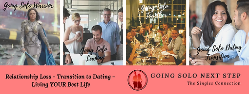 Going Solo Next Step Group - Relationship Loss, Divorce and Transition into Dating Singles Group