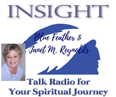 Insight with Blue Feather