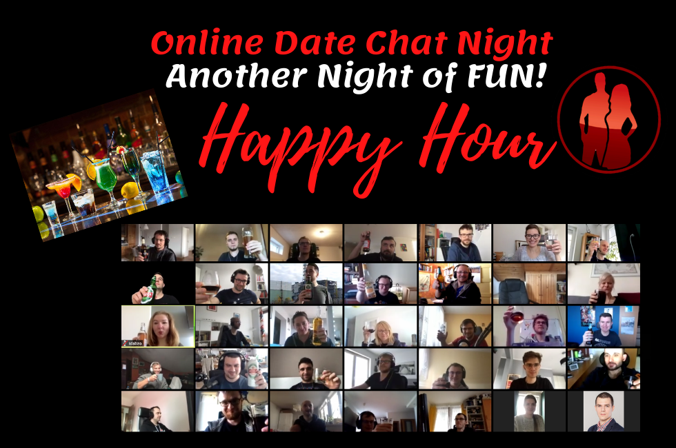 Online Date Chat Night - Happy Hour