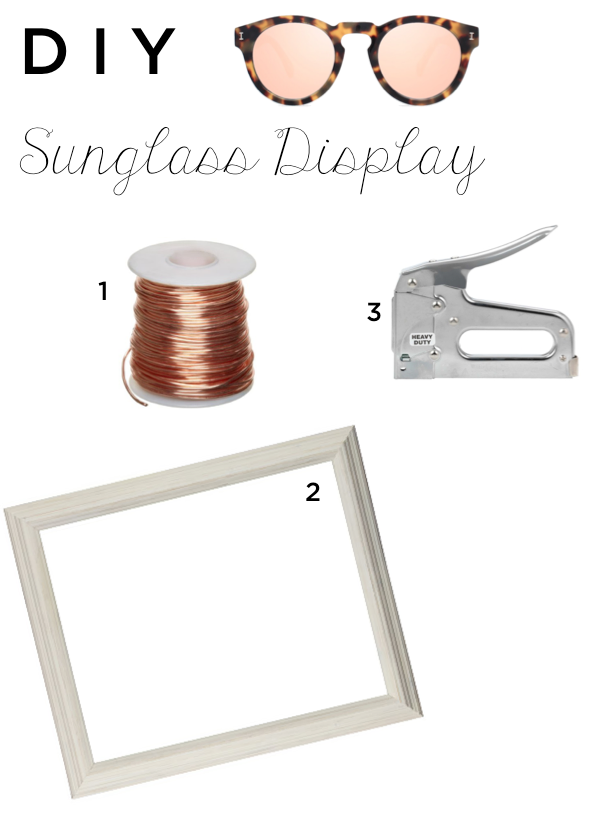 Pineapple & Prosecc: Quick & Easy DIY Sunglass Display