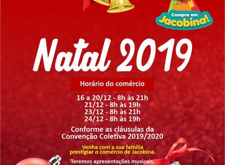 HORÁRIO NATALINO 2019