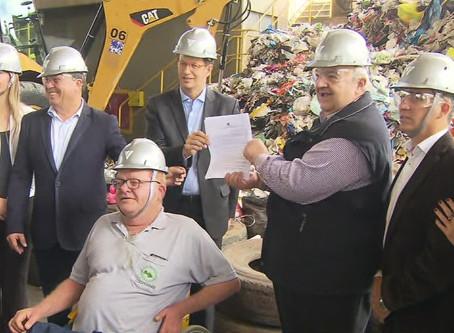 Ministro do Meio Ambiente lança programa nacional para substituir lixões por aterros sanitários