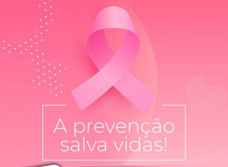 OUTUBRO ROSA - A prevenção salva vidas!