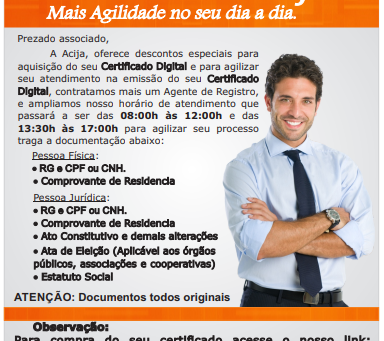 Certificado Digital é Aqui!!!