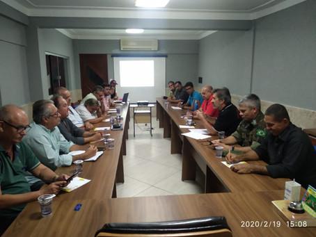 Reunião - Organização do I Agro-Chapada