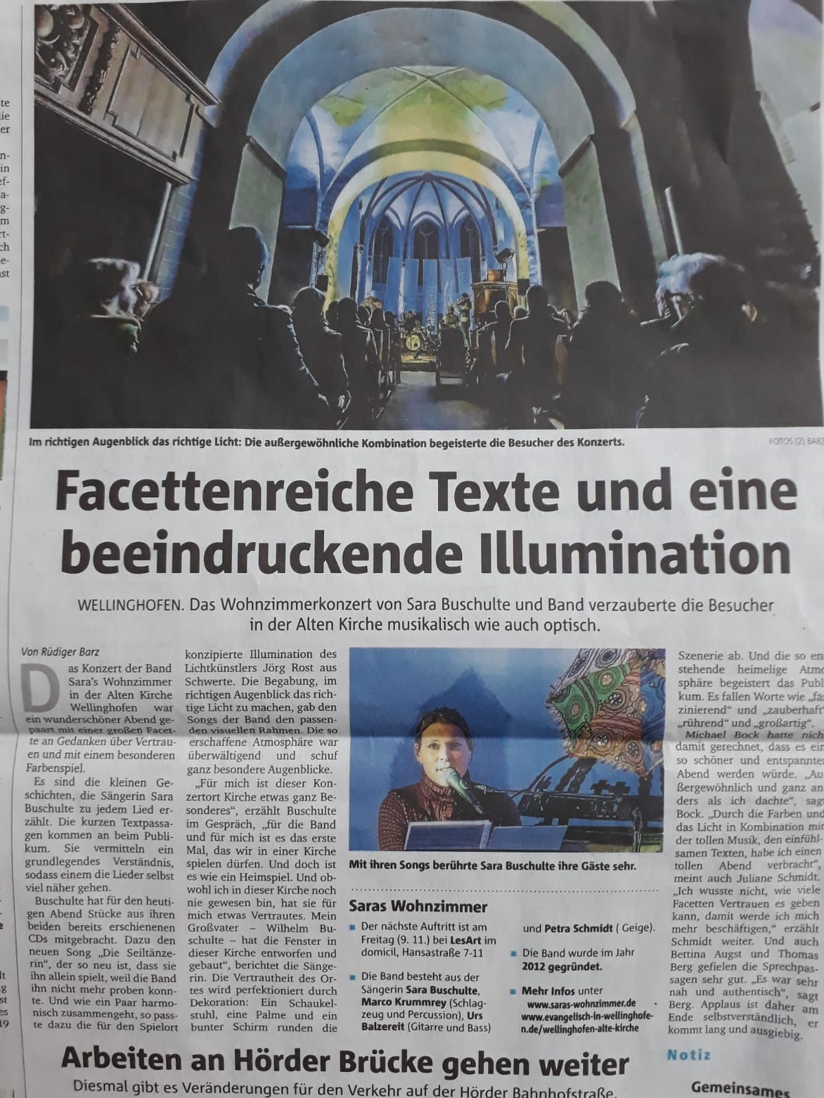 Artikel Alte Kirche Wellinghofen